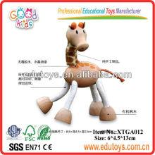 Wooden Giraffe Toys,Mini Animal Toys