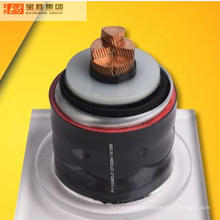 Single core XLPE  with corrugated aluminium sheath with PE/PVC over sheath high voltage power cable