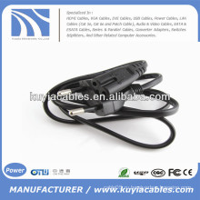 Плоский EU 2 Prongs Type8 Ноутбук AC Power Kabel