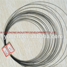 high quality nitinol wire 3mm price per kg
