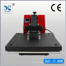2014 digital de alta presión personalizada de transferencia de calor lvd personalizado camiseta logotipo de transferencia de calor transferencia de máquina de corte de prensa