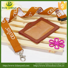 Popular Custom id badges and polyester lanyards
