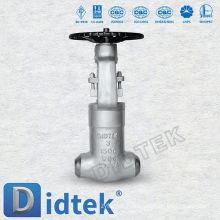 Vanne de robinet de soudure Didtek Butt à 3 po avec dessin