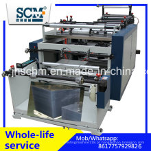 Máquina de corte computarizada da folha do PVC