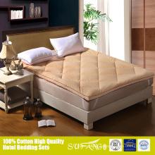 La fatigue soulage le surmatelas super doux de meubles de chambre à coucher
