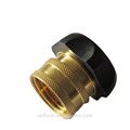 High quality garden hose adjustable metal connector with coating