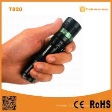 150lumens CREE Xr-E Q5 Zoom LED Tocha (Poppas-T820)
