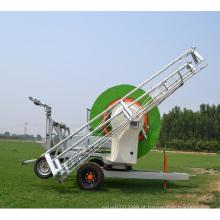 Sistema de máquina de irrigação com carretel de mangueira Aquajet II