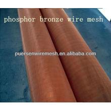 2013 malha de arame de bronze de fósforo de alta qualidade
