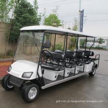 6 ônibus de turismo de passageiros de gasolina com dois de volta para lugares