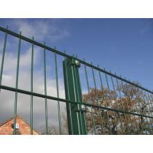 Clôture de sécurité en double clôture en PVC