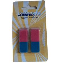 Red & Blue Eraser Set