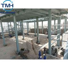 entrepôt de construction en acier isolé en gros avec toit plat