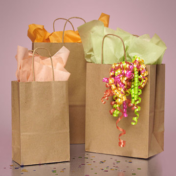 Fashion kraft bags custom service