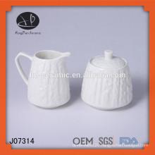 Milk Bowl Sugar Bowl,sugar pot and milk pot,ceramic sugar and milk pot