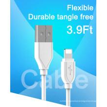 TPE cabo USB do cabo do telefone