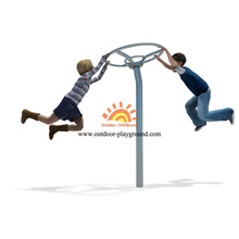 Dynamic Steel Spinner Playground Equipment For Children