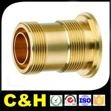 Pièces de tournage en laiton tournant CNC / Laiton / Bronze / Cuivre