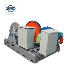 LYJN-S-5014 torno eléctrico de la cuerda de alambre de 30 toneladas de largo