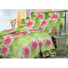 Impressão de pigmento de dispersão de tecido para conjuntos de cama 100% poliéster