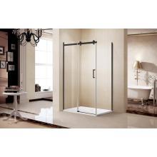 Simple Shower Enclosure Cabin with Sliding Door