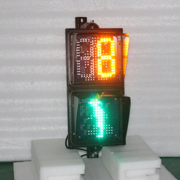 Temporizador de cuenta regresiva 200mm Led Traffic Pedestrian Cross Light