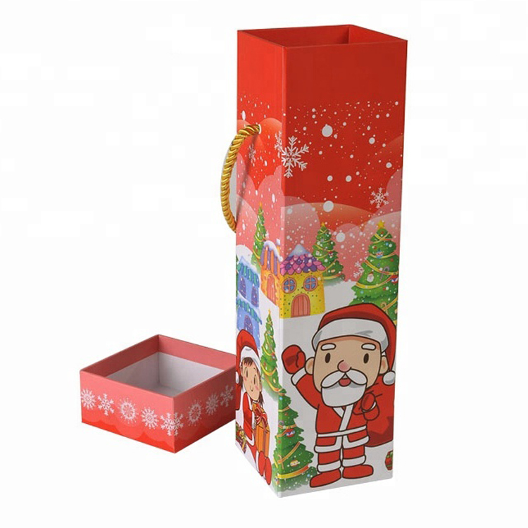Small Christmas Cute Paper Printed Packaging Box