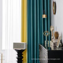 Blackout curtain hot seller, Amazon  jacquard window curtain supplier,woven blackout curtain for living room