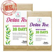 Chá orgânico do Detox do bem-estar (programa de 28 dias)