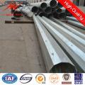 Poste de serviço público de aço da transmissão de poder 230kv