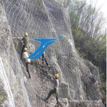 Sns Flexible Protection Wire Mesh Fencing