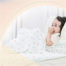 factory supplier muslin fabric swaddle blanket