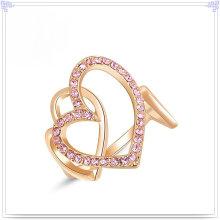 Accesorios de moda Anillo de cristal de aleación de joyería (AL0008G)