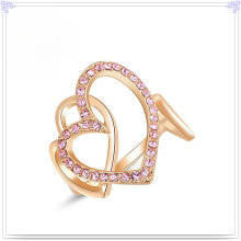 Fashion Accessories Crystal Jewelry Alloy Ring (AL0008G)