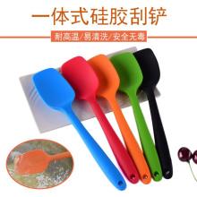 Hitzebeständiges Küchenbackwerkzeug Silikon-Spatel-Löffel