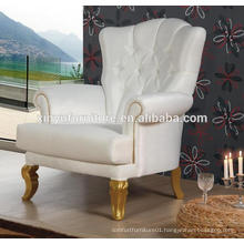 French style living room big upholstered arm sofa chair XUD233
