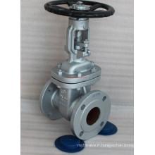 Valve de vanité JIS d'acier moulé API600 (Z41H-10K-DN100)