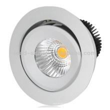 15W Rund Aluminium LED Deckenleuchte