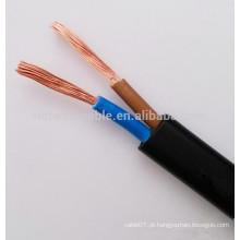 2x1.5mm2 OFC cabo flexível de alimentação plana
