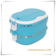 Пластиковые коробки из нержавеющей стали ланч для Выдвиженческих подарков (HA62013)