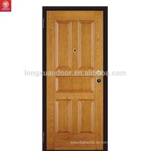 Puerta de madera de roble América de nuevo diseño interior sólido