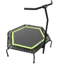 Jumping Gym Club Hexagon Trampoline Equipment with Handle