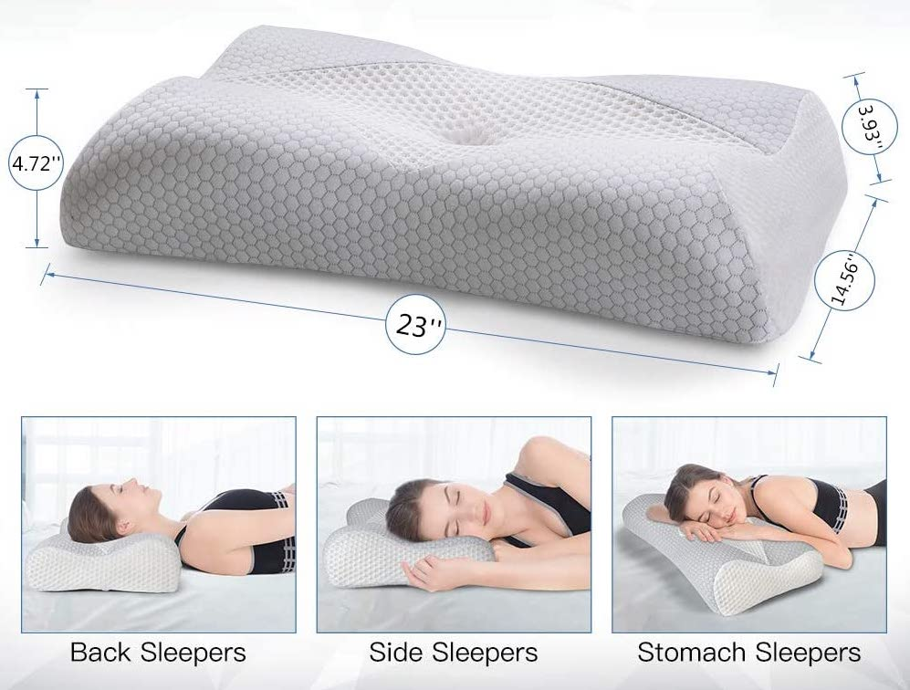 Back Support Pillow For Bed