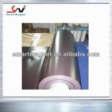 Imán de caucho industrial de revestimiento de PVC permanente personalizado
