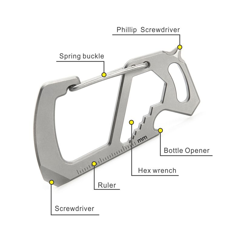 titanium carabiner