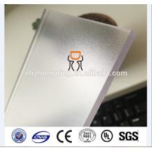 feuille de polycarbonate PC pour tapis de fauteuil