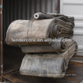 CCS certified rubber marine airbag for ship launching exported to Batam Indonesia