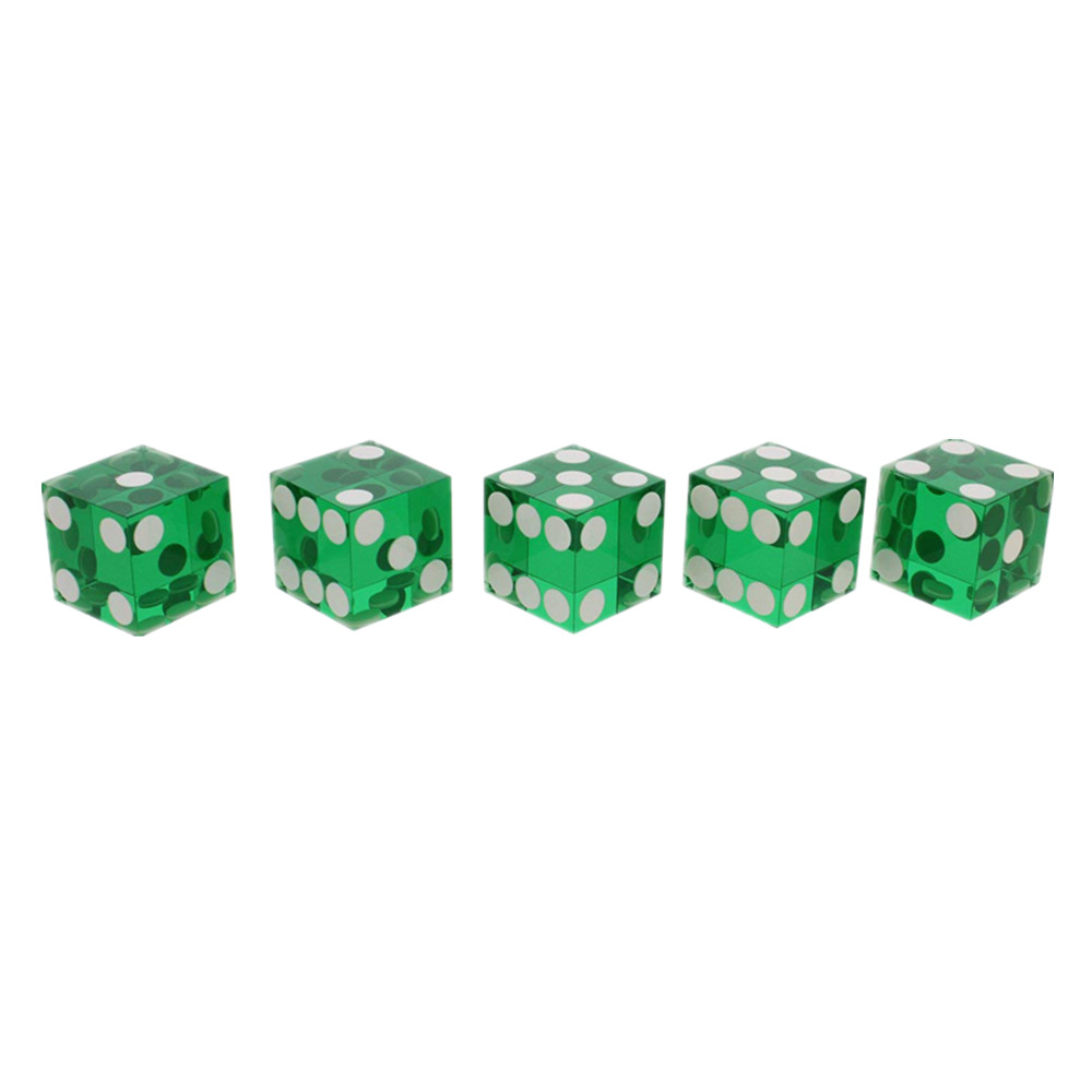 Game Playing Dice Sharp Edges
