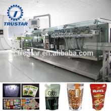 Embalaje de alimentos esterilización reutilizables bolsas de vertedero máquina de embalaje
