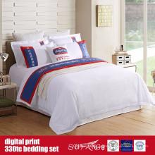 Edredón de impresión digital de algodón 60S 330TC 173 * 156